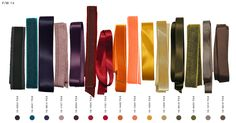 Fall Winter 2014/15 colours