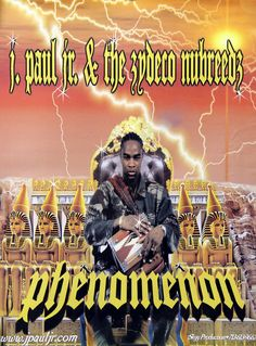 J. Paul Jr. & the Zydeco Nubreedz Phenomenon Original Houston Rap Promo Poster Link to store: http://stores.ebay.com/Rock-On-Collectibles/Rap-Hip-Hop-Posters-/_i.html?_fsub=10102107&_sid=70220124&_trksid=p4634.c0.m322