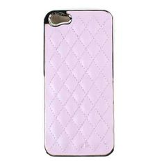 Unlimited Cellular Hybrid Novelty Case for Apple iPhone 5 / 5S (Purple Fabric)