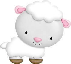 "Photo from album "":Barnyard Buddies:"" on Yandex. Baby Sheep, Cute Sheep, Sheep And Lamb, Baby Animals, Cute Animals, Barn Parties, Cute Clipart, Farm Party, Cute Images"