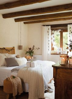 Old farmhouse with Nordic Christmas spirit in France