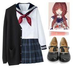 """Let's go to school!"" by aby-ocampo ❤ liked on Polyvore featuring Miss Me, Organic by John Patrick, John Fluevog and Lancôme"