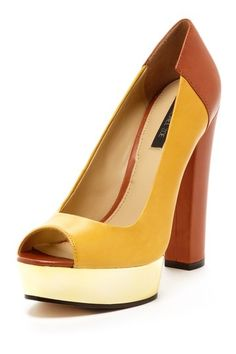 Lauren Peep Toe Pump by Rachel Zoe