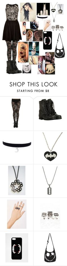 """""""Anywhere But Here - Mayday Parade"""" by leia-albin ❤ liked on Polyvore featuring Retrò, AllSaints, NOVA, Forever 21 and ASOS"""