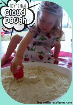 Posting to remind myself that my kids are addicted to that Sandtastik/Kinetic sand and it's got to be a similar concept....