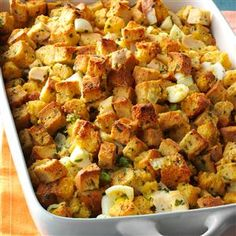 Corn Bread Stuffing - serves 18 - 20