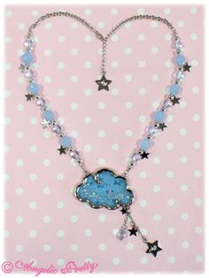 Lolibrary | Angelic Pretty - Jewelry - Misty Sky Necklace