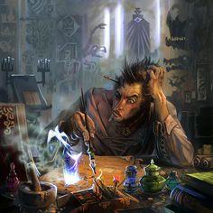 thinking is a hard job by breath-art.deviantart.com on @DeviantArt