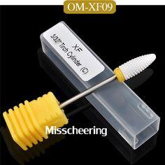 High Quality 1 Pcs Ceramic 3 32 Shank Nail Drill Bits For Electric Nail Manicure Pedicure. Click visit to buy #Nail #Tool #NailTool