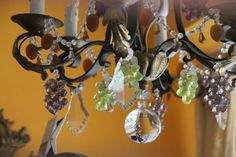 Crystal chandelier French chandelier French vintage decor Crystal hanging lighting French style decor Interior decor Light fixture ceiling French Chandelier, Sconces, Wall Lights, Crystals, Vintage, Home Decor, Chandeliers, Appliques, Decoration Home