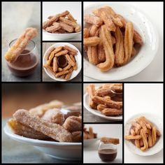 Churros Collage
