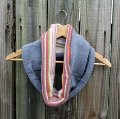 Make Upcycled Sweater Cowls with Steph at Stuff Step Does, featured @savedbyloves