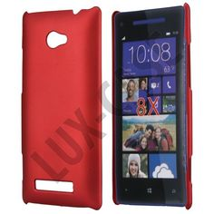 Rød HTC 8X Deksel Windows Phone, Shell, Cover, Blankets, Conch, Shells
