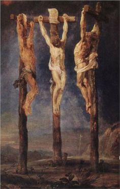 Rubens, The Three Crosses, ca. 1620, Museum Boijmans Van Beuningen, Rotterdam, Netherlands