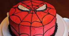 For my Buddy's 3rd birthday recently, I made him this delicious, awesome Spider-man cake! He loved it, and it was actually a lot sim...