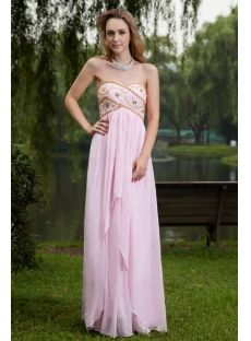 Flattering Shallow Sweetheart Neckline Empire Full Length Pink Maternity Prom Dresses With Embroidery Beads Maternity Prom Dresses, Prom Dresses 2016, Plus Size Prom Dresses, Evening Dresses, Bridesmaid Dresses, Unique Dresses, Cheap Dresses, Casual Dresses, Formal Dance