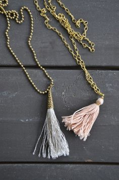 how to make tassels - make one for our roller shade in the kitchen