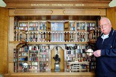 De miniatuurbibliotheek 'Bibliotheca Thurkowiana Minor' te zien in nieuwe zaal Museum Meermanno | Boekendingen…