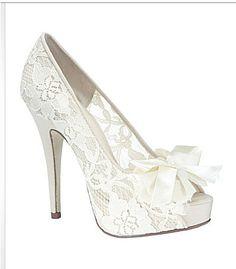 think i just found my wedding shoes....  -Dillards-