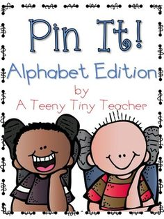 Pin It! {Alphabet Ed