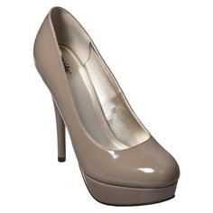 Taupe heels for Mom to wear. Simple pair of neutral heels to match any outfit.