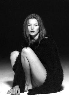 Kate Moss, 1993. Photo: Marc Hispard.