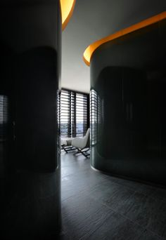The Armani Spa in Milan _ Cove Lighting, Lighting Design, Stair Paneling, Spa Interior, Interior Design, Armani Hotel, Hotel Hallway, Treatment Rooms, Bathroom Spa