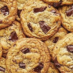 Milk Powder Is the Key to Better Cookies, Brownies, and Cakes | Epicurious No Bake Cookies, Cookies Et Biscuits, Baking Cookies, Yummy Cookies, Chocolate Chunk Cookie Recipe, Chocolate Cookies, Chocolate Chips, Powdered Milk, Stick Of Butter