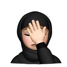 Anime Face Drawing, Hijab Drawing, Earth Day Posters, Islamic Cartoon, Girl Emoji, Girly M, Hijab Cartoon, Cute Love Gif, Islamic Girl