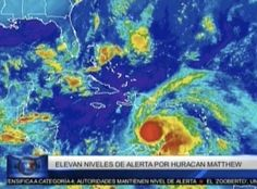 Elevan niveles de alerta en RD por huracán Matthew