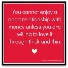 15 Ways To Improve Your Relationship With Money | Creative Money