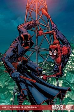 #Spiderman #Fan #Art. (MARVEL ADVENTURES SPIDER-MAN #27 Cover) By: Patrick Scherberger. ÅWESOMENESS!!!™ ÅÅÅ+