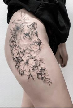flower tattoo ideas for woman, floral tattoo ideas, rose tattoo, elegant tattoo ideas, sexy tattoo ideas, summer tattoo ideas, peony tattoo ideas #tattoo #rose #woman #fashion #flower