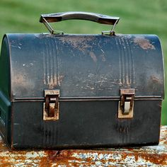Shop for on Etsy, the place to express your creativity through the buying and selling of handmade and vintage goods. Water Company, Pump House, Metal Lunch Box, Buckets, Industrial Style, Retro Vintage, Old Things, Boxes, Decor Ideas