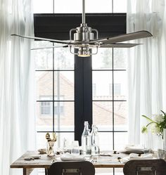 Peregrine Ceiling Fan | Rejuvenation Dining Room Ceiling Fan, Ceiling Fans,  Coastal Ceiling Fan