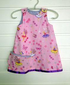 Kjole med veske, str 3 år Summer Dresses, Sewing, Fashion, Pink, Moda, Dressmaking, Summer Sundresses, Couture, Fashion Styles