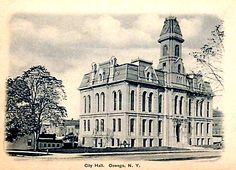 City Hall, Oswego, N.Y. circa 1906