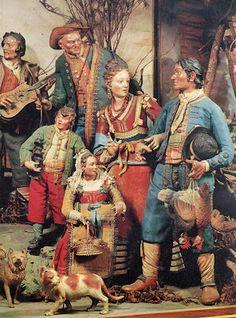 """Il presepio (napoletano) è  il Vangelo tradotto in dialetto partenopeo""""affermava Michele Cuciniello che donò al Museo di San Martino di Napoli la sua meravigliosa collezione, inaugurata felicemente nel 1879."""