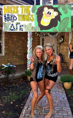 """wild"" for dee gee ...could be a cute date party theme!"