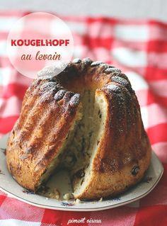 Les rares fois où je mange du kougelhopf, c'est lors de nos séjours chez Belle-Maman, qui connaît une dame qui en fait exp…