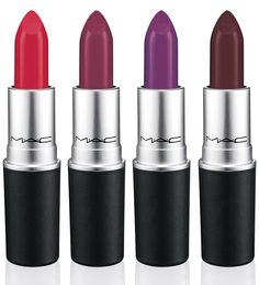 New make-up collections: The Matte Lip Collection I love these new MAC matte lipsticks!