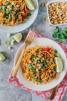Cheap, easy, and ready in under 30 minutes? This Vegan Pad Thai will bring you from lunch, to dinner, to parties, to anywhere in between.