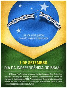 Feliz dia da Independência! #7DeSetembro #Brasil