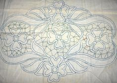 Zsinórcsipke mintája   Romanian Point Lace pattern from Hungary