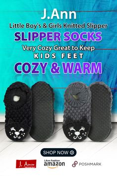 100% Polyester J.Ann-Toddler Little Kids Knitted Slipper Socks with Animal Face Material : 100% polyester., With non slip bottom, great for walking indoors. Size ( Bottom Flat Length Measurement): Small ( 13-14cm), Medium ( 15-16cm), Large (17-18cm) ** Please see measurements when ordering your size. Very Cozy, Great to keep kids feet cozy and warm Color: Refer to picture for styles available. Color may slightly varies due to photographic lightings. Little Boy And Girl, Little Boys, Boy Or Girl, Muslim Fashion, Men Fashion, Winter Fashion, Knitted Slippers, Slipper Socks, Business Planner