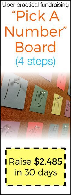 """Step by step, here's how to set up a """"Pick a Number"""" board to raise support for your mission trip."""