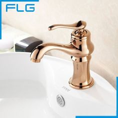 69.30$  Watch here - http://alio5k.worldwells.pw/go.php?t=32283601529 - Europe Bathroom Brass Rose Gold Faucet Single Handle Basin Lavatory Vessel Sink Mixer Tap Banheiro Torneira