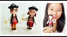 Cute arribean Pirates Girl //3D Quilling Superhero Kids  Series Learning...