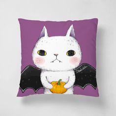 吸血蝙蝠喵 - Pillows - StarLululu李星禾   62Icon
