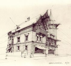 Architectural Sketches by flaf